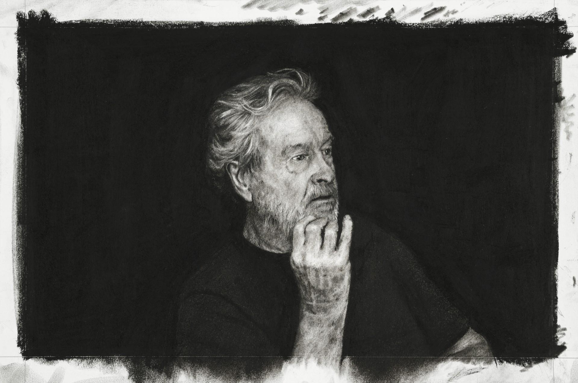Sir Ridley Scott by Nina Mae Fowler, 2019 © National Portrait Gallery, London
