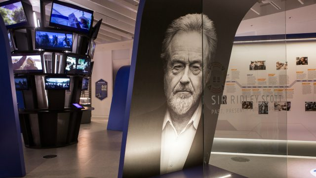 Sir Ridley Scott: Past, Present and Future Visionary Exhibition at The Word, National Centre for the Written Word