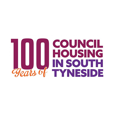 100 Years of Council Housing in South Tyneside logo